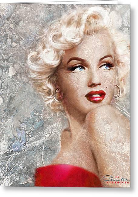 Marilyn Danella Ice Greeting Card