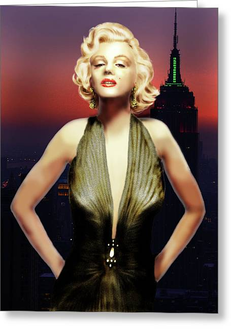 Marilyn Forever Greeting Card