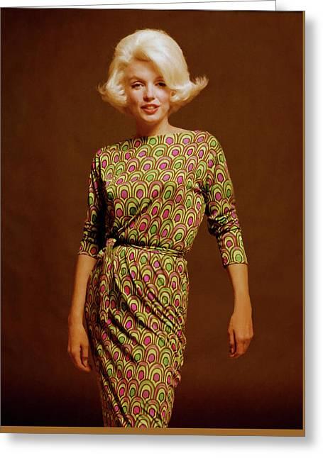 Marilyn Monroe 10 Greeting Card