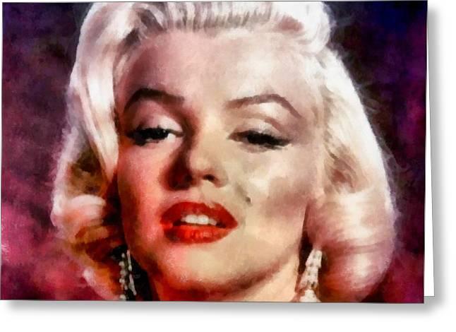 Marilyn Monroe 12 Greeting Card
