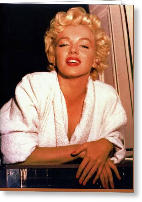 Marilyn Monroe 15 Greeting Card