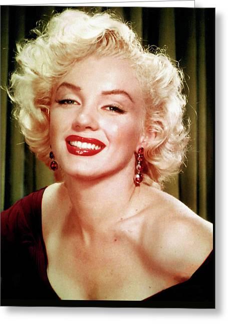 Marilyn Monroe 16 Greeting Card