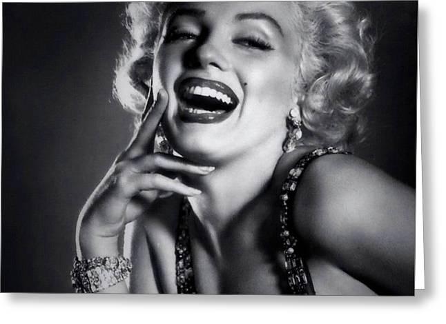 Marilyn Monroe 17 Greeting Card