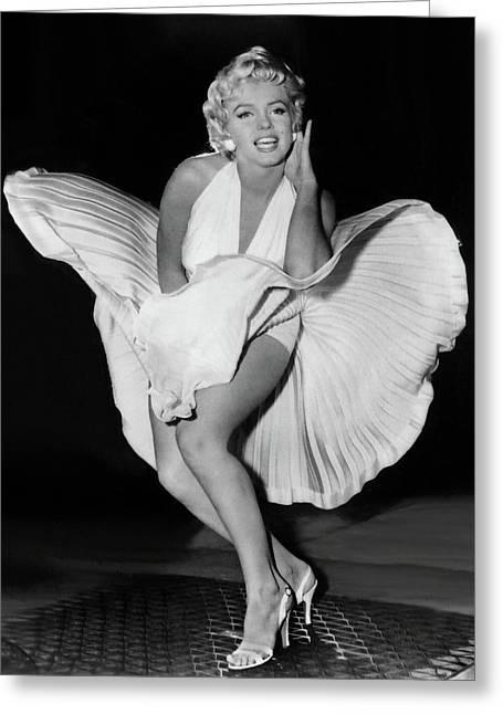 Marilyn Monroe 19 Greeting Card