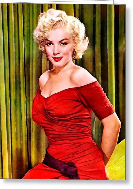 Marilyn Monroe 20 Greeting Card