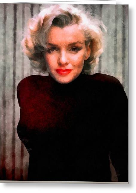 Marilyn Monroe 21 Greeting Card