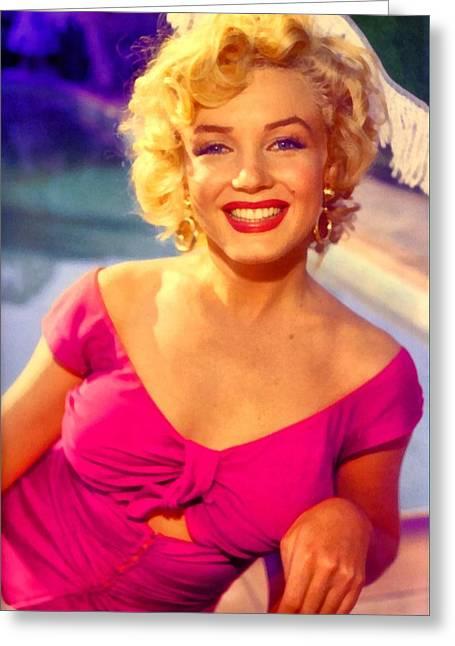 Marilyn Monroe 22 Greeting Card