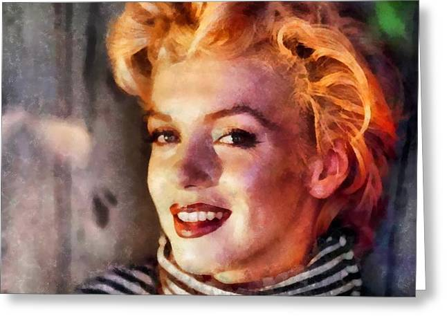 Marilyn Monroe 23 Greeting Card
