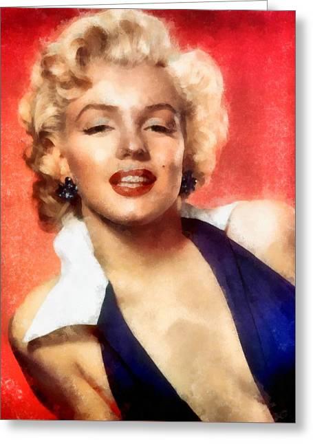 Marilyn Monroe 25 Greeting Card