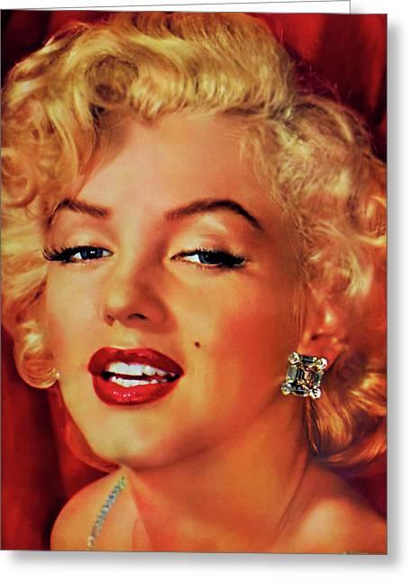 Marilyn Monroe 3 Greeting Card