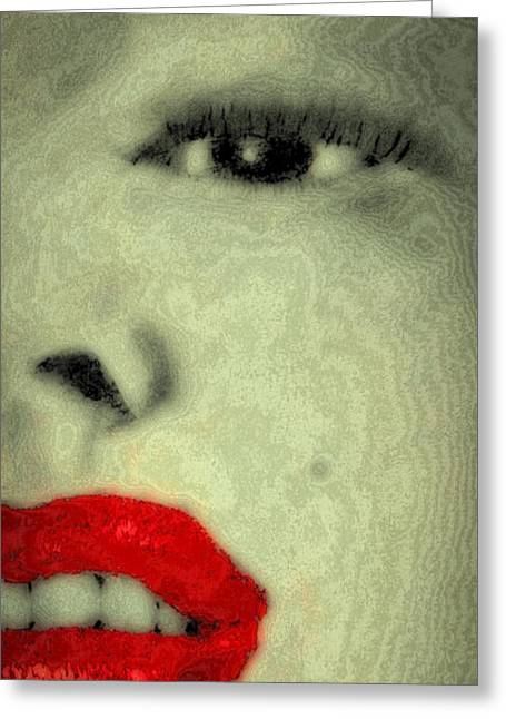 Marilyn Monroe 4 Greeting Card by David Patterson