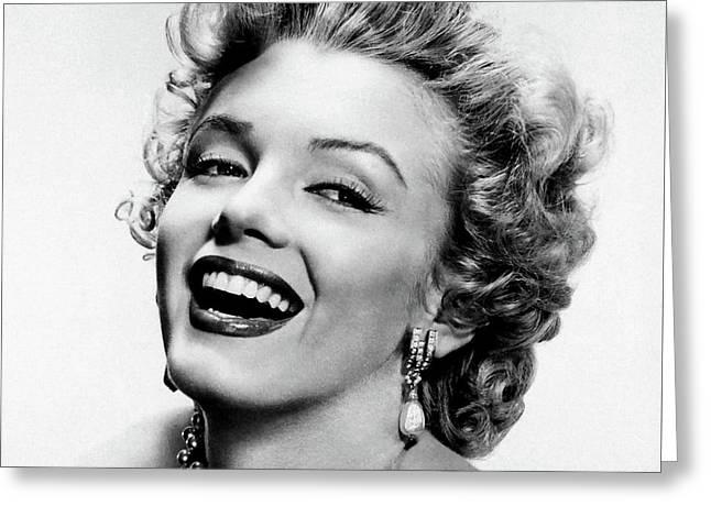 Marilyn Monroe 5 Greeting Card