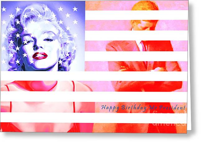 Marilyn Monroe Happy Birthday Mr President 20160105 Photograph By