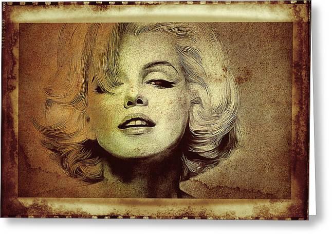 Marilyn Monroe Star Greeting Card