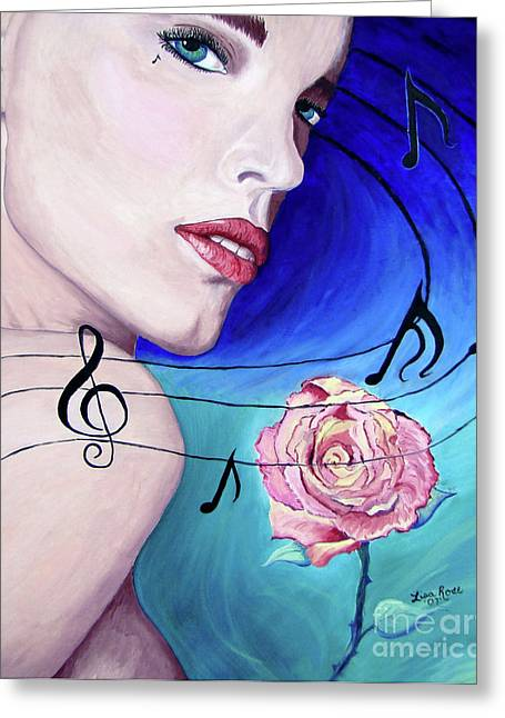 Marilyns Music In The Wind Greeting Card