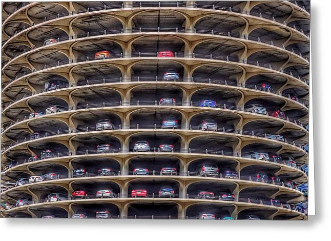 Marina City Chicago Greeting Card