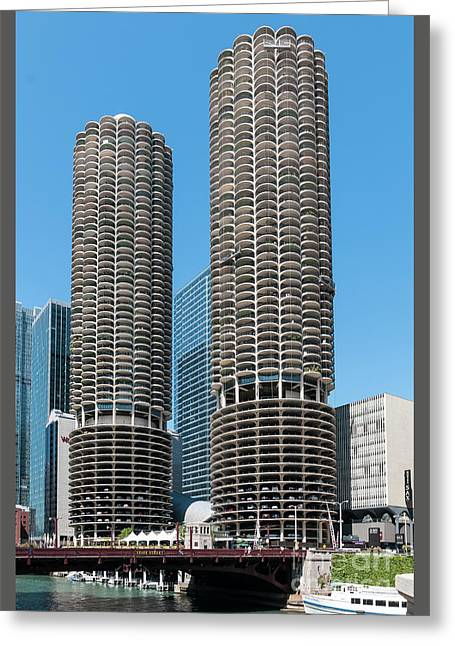 Marina City Greeting Card