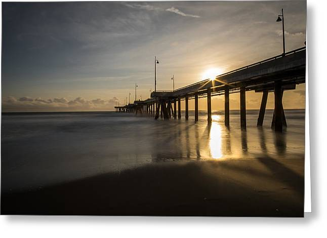 Marina Del Rey - Los Angeles - Seascape Photography Greeting Card by Giuseppe Milo