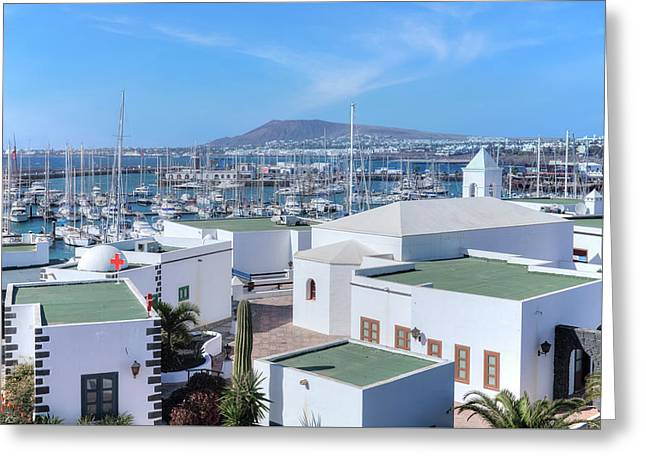 Marina Rubicon - Lanzarote Greeting Card
