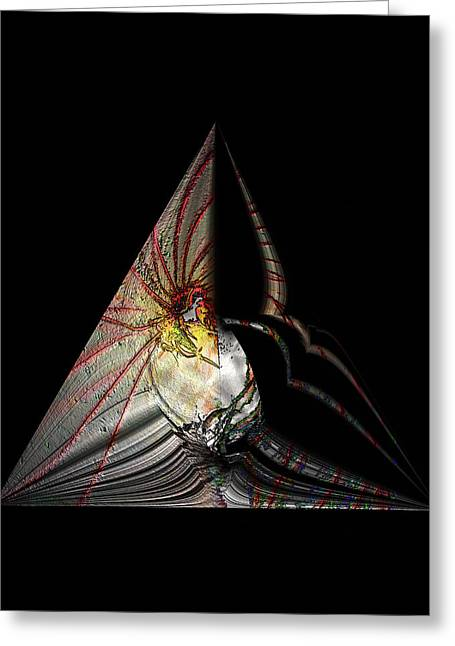 Greeting Card featuring the photograph Marine Life Abstrat 7 by Irma BACKELANT GALLERIES