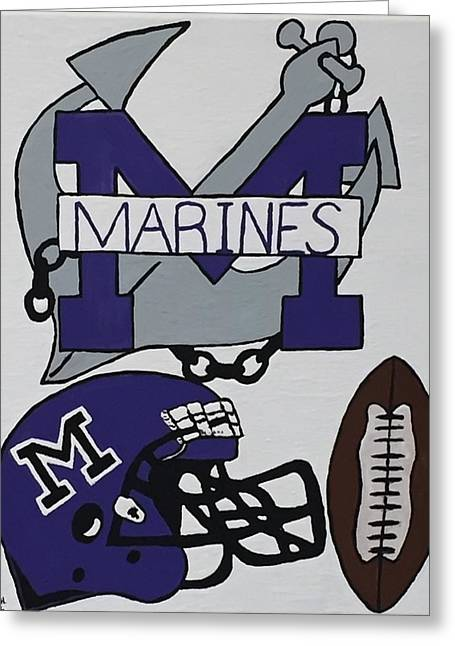 Marinette Marines. Greeting Card by Jonathon Hansen