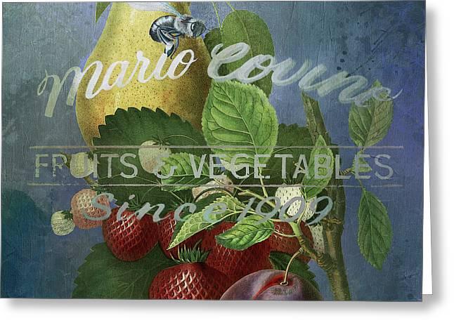 Mario Covine Greeting Card
