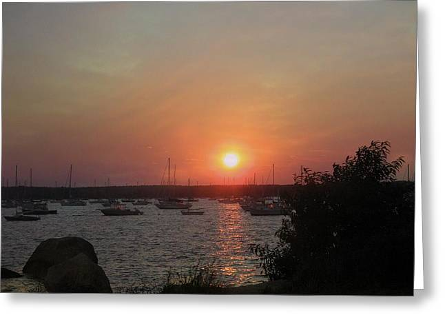 Marion Massachusetts Bay Greeting Card