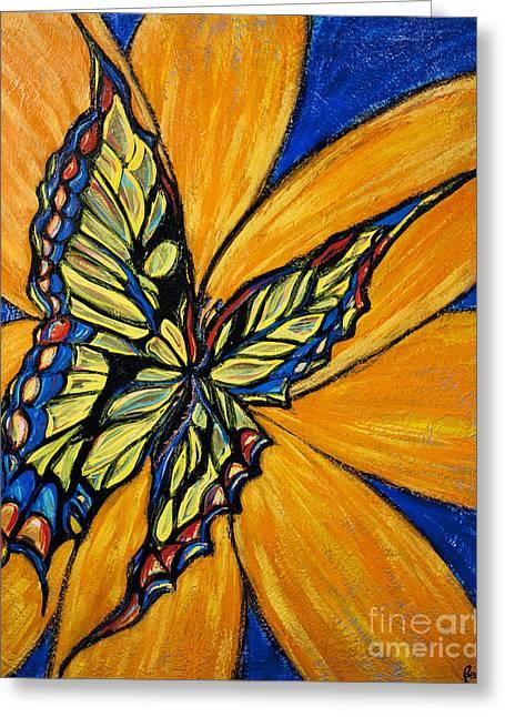 Mariposa Greeting Card by Becca Lynn Weeks