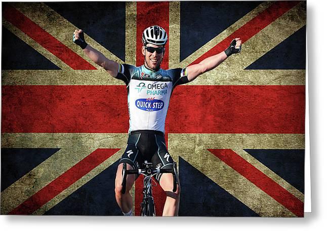 Mark Cavendish 1 Greeting Card