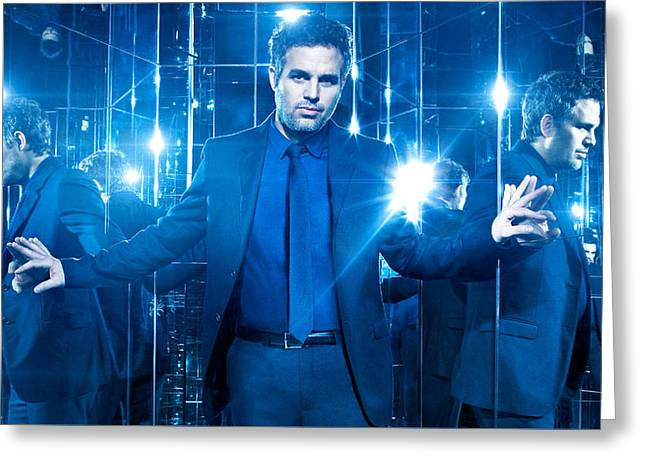 Mark Ruffalo Now You See Me 2 Greeting Card
