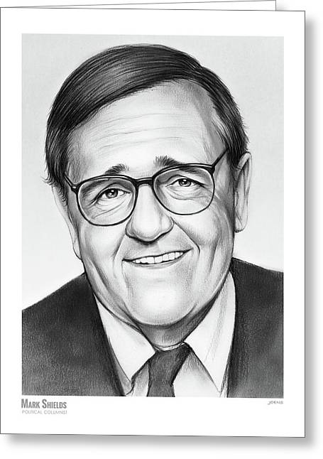 Mark Shields Greeting Card