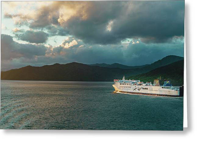 Marlborough Sounds Greeting Card