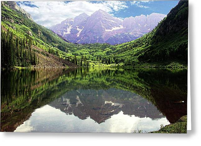 Maroon Bells  Greeting Card