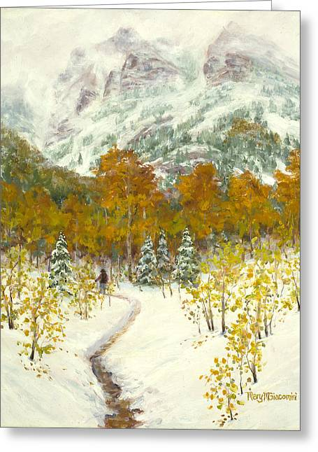 Maroon Bells-snowmass Wilderness Trek Greeting Card