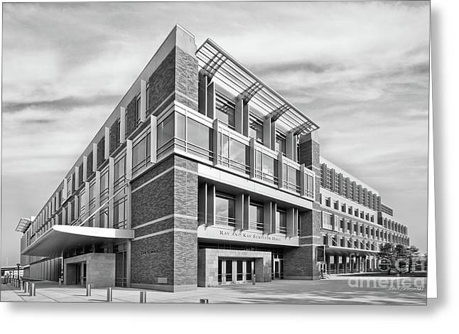 Marquette University Eckstein Hall  Greeting Card by University Icons
