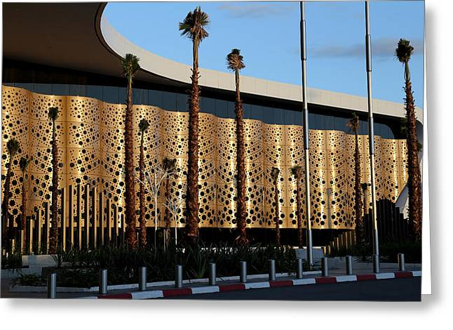 Greeting Card featuring the photograph Marrakech Airport 1 by Andrew Fare
