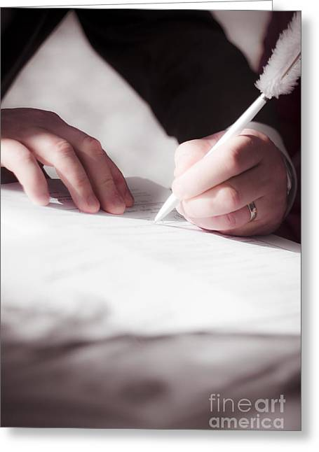 Marriage Certificate Greeting Card by Jorgo Photography - Wall Art Gallery