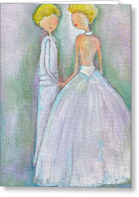 Ellen Degeneres Greeting Cards - Marry Me Greeting Card by Ricky Sencion