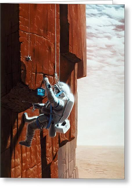 Mars: Exploration Greeting Card