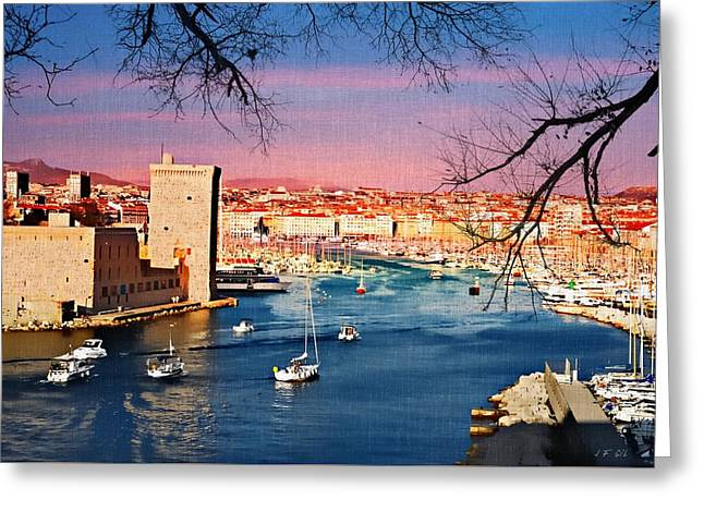 Marseille Greeting Card
