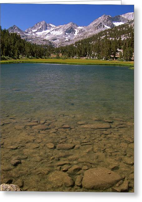 Marsh Lake - Little Lakes Valley Greeting Card