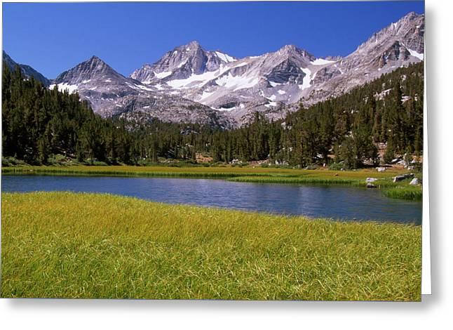 Marsh Lake Greeting Card