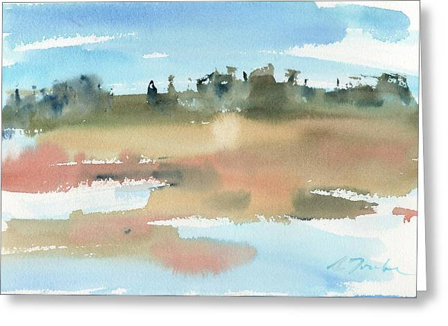 Marsh No.48 Greeting Card by Sumiyo Toribe