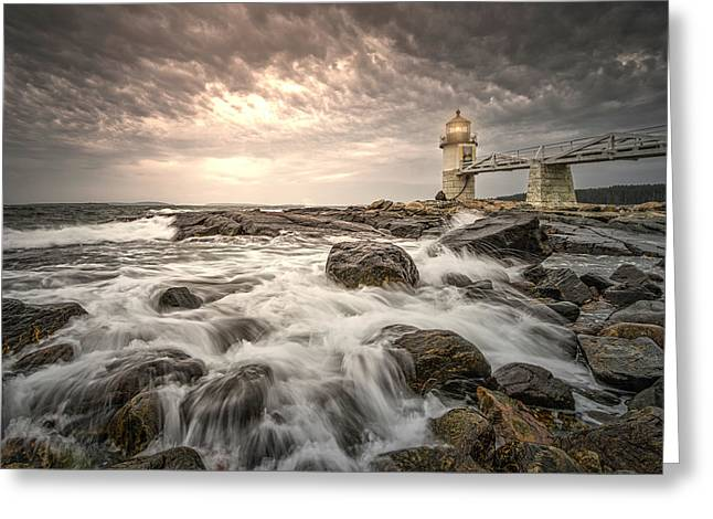 Marshal Point Lighthouse Greeting Card