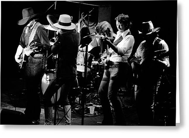 Marshall Tucker Band With Jimmy Hall Greeting Card by Ben Upham