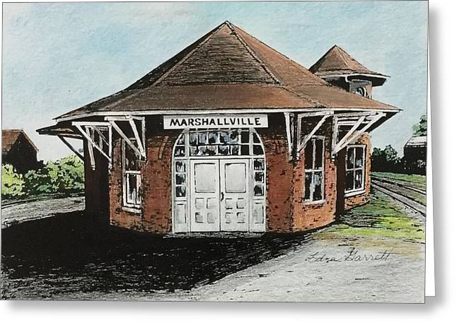 Marshallville Depot Greeting Card
