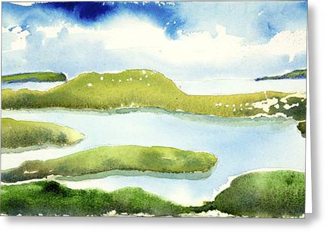 Marshes Greeting Card