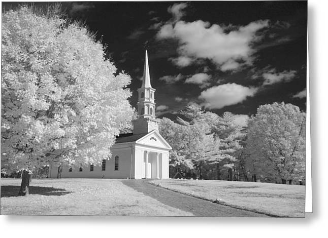 Martha And Mary Chapel Greeting Card by James Walsh