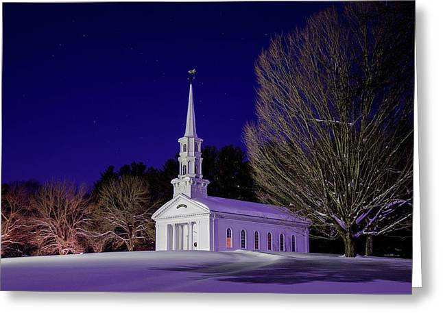 Martha And Mary Chapel Greeting Card by Mike Randall