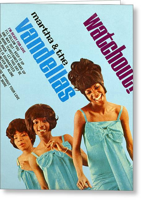 Martha And The Vandellas Greeting Card by Granger
